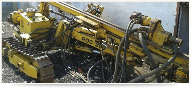 ATLAS COPCO ROC-203 (ANCHOR INSTALLATION)