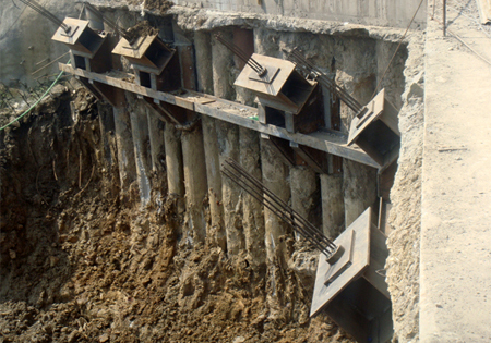 Soil Anchors Pile Foundation Structural Foundation