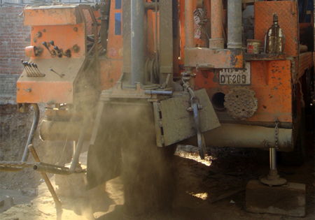 Rock Drilling (DTHH) - Pile Foundation - Structural Foundation